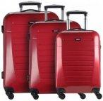 Nowi Malaga 4.0 4-Rollen Kofferset 3tlg. rot, Gr. XL (71-80 cm)