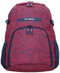 Samsonite Rewind Rucksack 44 cm Laptopfach capri red stripes