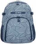 Samsonite Rewind Rucksack 44 cm Laptopfach navy blue stripes