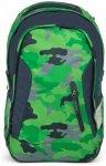 Satch Sleek Schulrucksack 45 cm Green Camou
