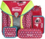 Scout Limited Edition Nano Schulranzen-Set 5-tlg. Lovely Horse