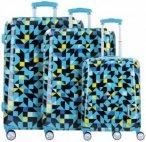 Travelite Campus 4-Rollen Kofferset 3tlg., Gr. XL (71-80 cm)