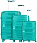 Travelite Ceris 4-Rollen Kofferset 3tlg., Gr. XL (71-80 cm)