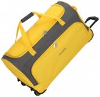 Travelite Garda Pop XL Rollenreisetasche mit Trolley-Funktion 72 cm gelb, Gr. XL
