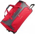 Travelite Garda XL Reisetasche groß mit Rollen mit Trolley-Funktion 72 cm rot a