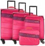 Travelite Kite 4-Rollen Kofferset 4tlg. pink, Gr. XL (71-80 cm)