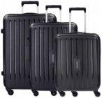 Travelite Uptown 4-Rollen Kofferset 3tlg. schwarz, Gr. XL (71-80 cm)