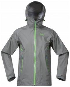 Bergans Airojohka Jacket, solid grey/timothy/blue, Größe XL
