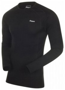 Bergans Fjellrapp Shirt, black, Größe S