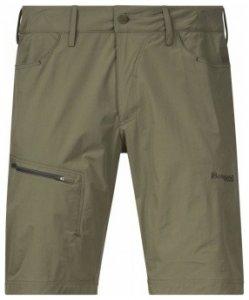 Bergans Moa Shorts, khaki green/seaweed, Größe M