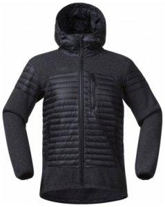 Bergans Osen Down Wool Jacket, black, Größe M