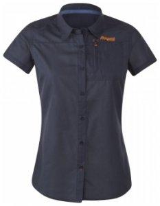 Bergans Sletta Lady Shirt Short Sleeve, navy, Größe S