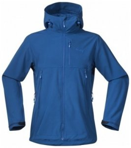 Bergans Stegaros Jacket, ocean/athens blue/light winter, Größe XXL