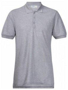 Bergans Valmue Pique Shirt, grey melange, Größe XL