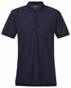 Bergans Valmue Pique Shirt, navy, Größe XL