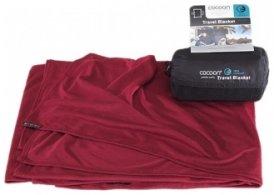 Cocoon Coolmax Travel Blanket, monks red, Größe 180x140cm