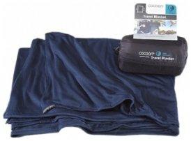Cocoon Coolmax Travel Blanket, navy, Größe 180x140cm