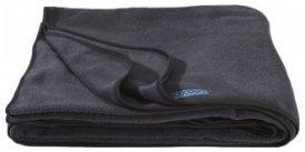 Cocoon Fleece Blanket / Fleecedecke, charcoal, Größe 200x160cm