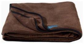 Cocoon Fleece Blanket / Fleecedecke, chocolate brown, Größe 200x160cm