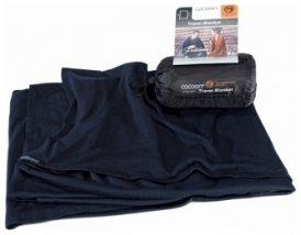 Cocoon Merino Wool/Silk Travel Blanket, graphite blue, Größe 180x140 cm