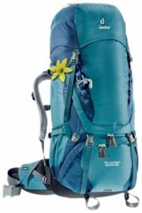 Deuter Aircontact 60+10 SL, denim-midnight, Größe 60 Liter