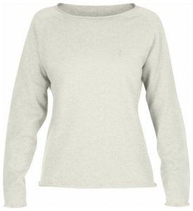 Fjällräven Övik Sweater - weiß - Gr. L - Damen - Pullover