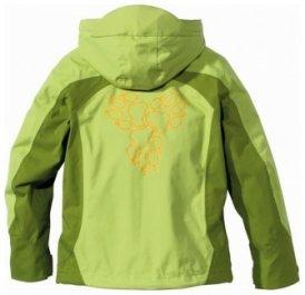 JACK WOLFSKIN Girls Topaz Jacket golden green