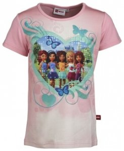 LEGO wear Tasja 316 Tabita Friends T-Shirt, pink, Größe 104