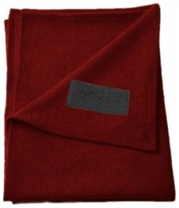 Mufflon Plaid II 220 x 140 cm, ruby