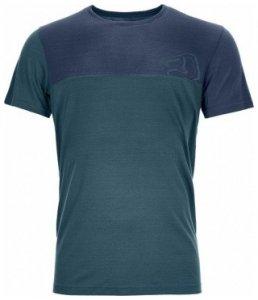 Ortovox Merino Cool Logo T-Shirt Men, mid aqua, Größe XXL