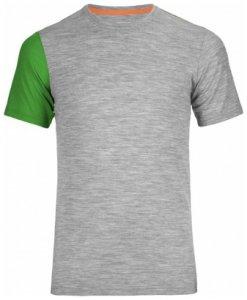 Ortovox Rock n Wool Short Sleeve, grey blend, Größe M
