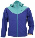 Adidas Girls Softshell Hoody, prime inkblue/ultra green, Größe 128