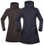 Bergans Bjerke 3in1 Lady Coat, dark navy/cocoa melange, Gr��e XS