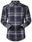 Bergans Bjorli Shirt, dark navy/night blue check, Größe L