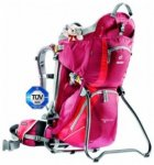 Deuter Kid Comfort 2, cranberry-fire, Größe 16 Liter