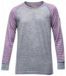 Devold Breeze Junior Shirt, peony stripes, Gr��e 12 (152 )