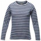 Devold Breeze Kid Shirt, night stripes, Größe 4 (104 )