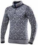 Devold Svalbard Sweater Zip-Neck, ink/grey, Gr��e XS