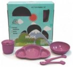 EcoSouLife Little People Kindergeschirr Set, cotton candy