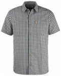 Fjällräven High Coast Shirt Short Sleeve, dark grey, Größe S