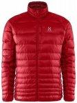 Haglöfs Essens III Down Jacket, real red/rubin, Größe L