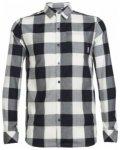Icebreaker Departure II LS Shirt Plaid, stealth/snow, Größe S
