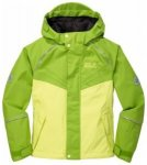 Jack Wolfskin Girls Emerald Jacket, fresh lemon, Gr��e 152