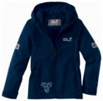 Jack Wolfskin Girls Silk Road, night blue, Gr��e 140