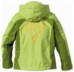 Jack Wolfskin Girls Topaz Jacket, golden green, Gr��e 128