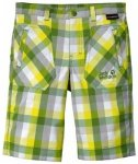 Jack Wolfskin Kids Cube Shorts, ivy green checks, Größe 116