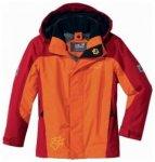 Jack Wolfskin Kids Exposure Jacket, dark orange, Größe 164