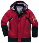 Jack Wolfskin Kids Momentum Jacket, tango red, Größe 128