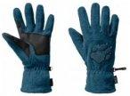 Jack Wolfskin Paw Gloves, moroccan blue, Größe XL