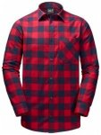 Jack Wolfskin Red River Shirt, indian red checks, Größe L